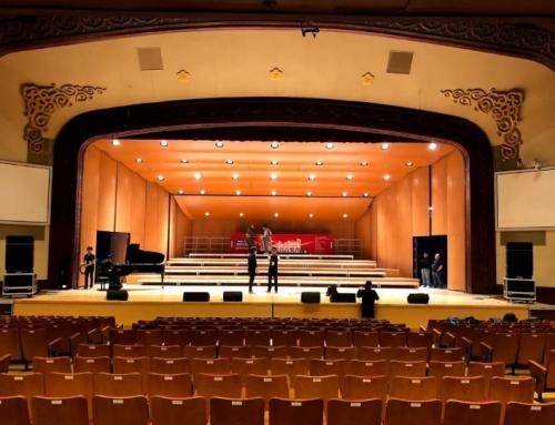 台北市中山堂中正廳1100座席的音響擴聲系統,採用Bose ShowMatch線陣列系統