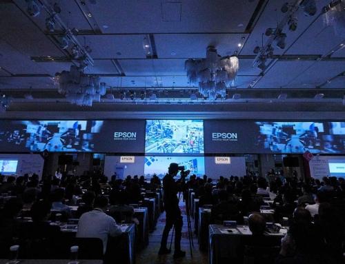 EPSON 2017年願景高峰會 選用美福大飯店360度連屏驚艷全場
